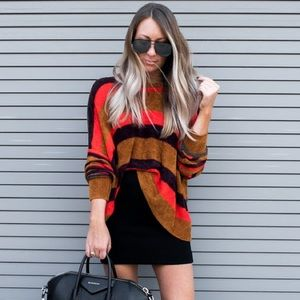 Free People All About You Terracotta Sweater